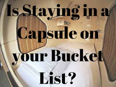 Is Staying in a Capsule on Your Bucket List?