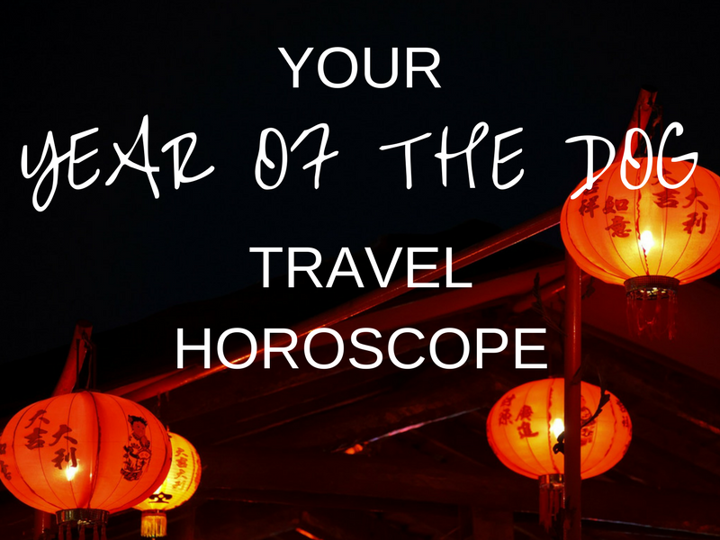 Your Year of the Dog Travel Horoscope