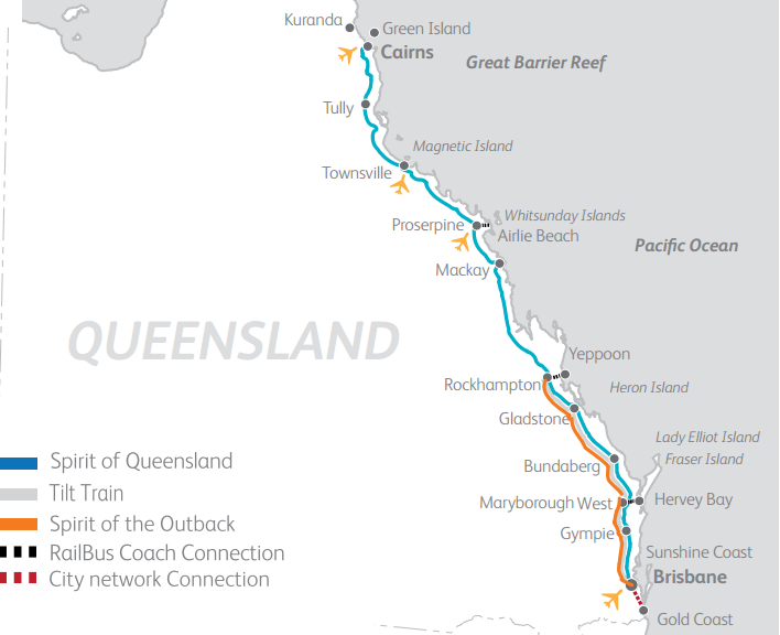 queensland coastal pass map