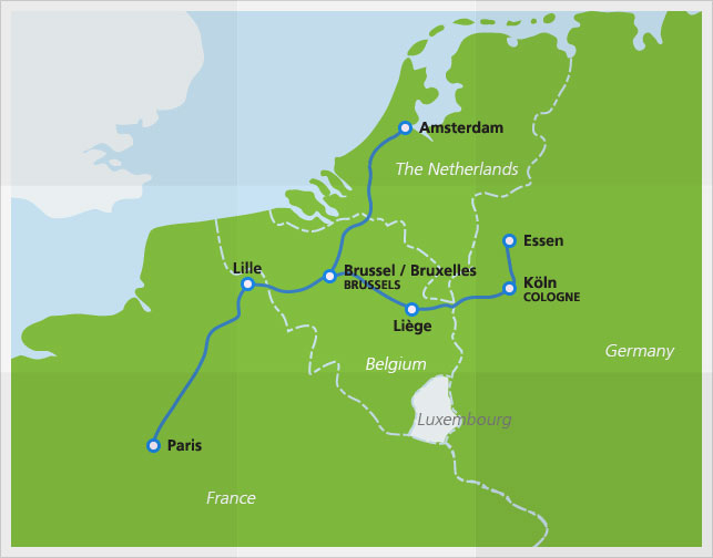 Thalys High Speed Train